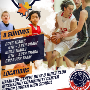 2019 Fall Basketball League WEEKS ONE & TWO SCHEDULES ARE NOW POSTED