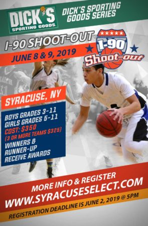 I-90 Shoot-Out Schedule NOW POSTED.
