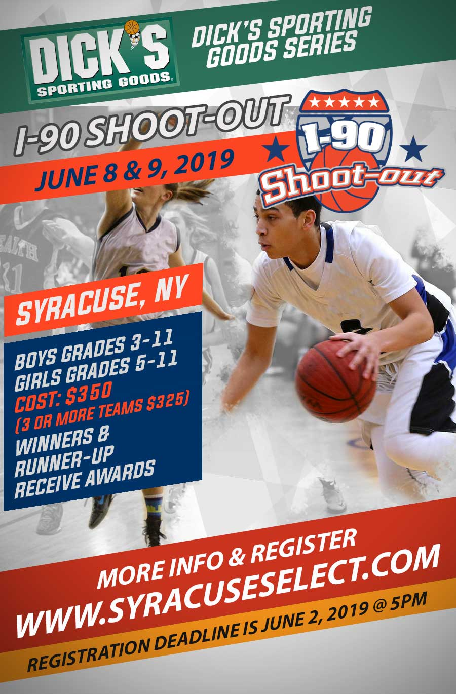 I-90 Shoot-Out Schedule NOW POSTED  | Syracuse Select