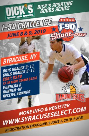 I-90 Shoot-Out (June 8th & 9th, 2019)At Onondaga Community College @ SRC