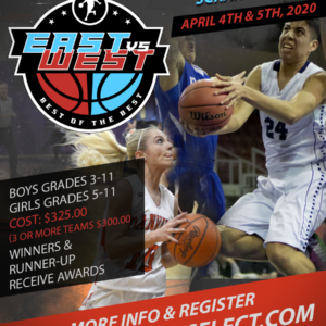 East vs. West Best of The Best  @ Clark Summitt University  (April 4th & 5th, 2020)