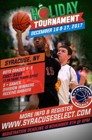 Holiday Tournament (December 16 & 17, 2017)