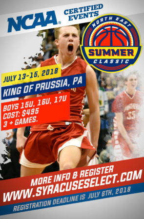 Northeast Summer Classic (July 13-15, 2018)