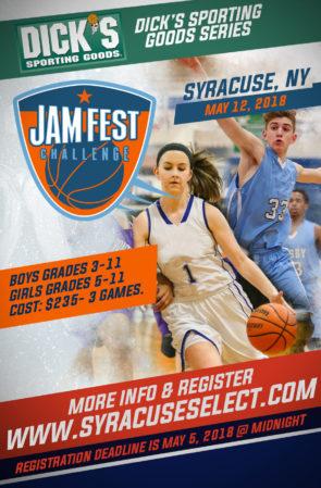 Spring Jam Fest Challenge (May 12, 2018)