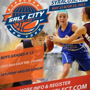 Salt City Shoot-out 5/22 &/or 5/23- Syracuse, NY