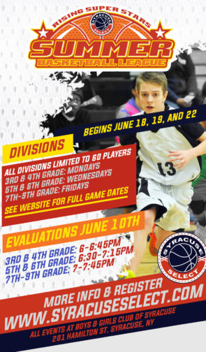 RISING SUPER STARS SUMMER BASKETBALL LEAGUE