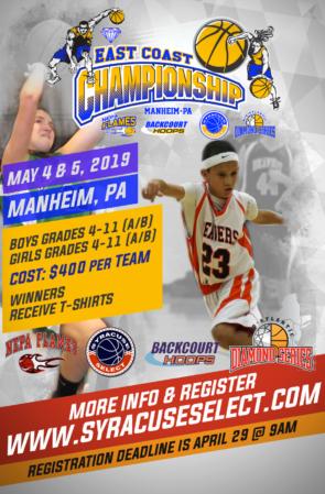 East Coast Championship (May 4th & 5th, 2019)