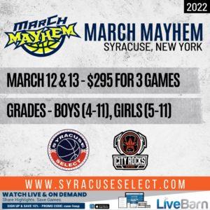 2022 March Mayhem