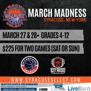March Madness March 27th OR 28th, 2021