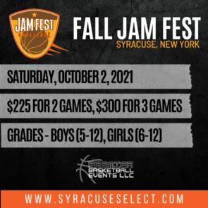2021 Fall Jam Fest