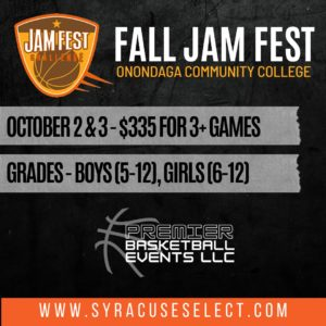 2021 Fall Slam Fest on The Campus of Onondaga Community College
