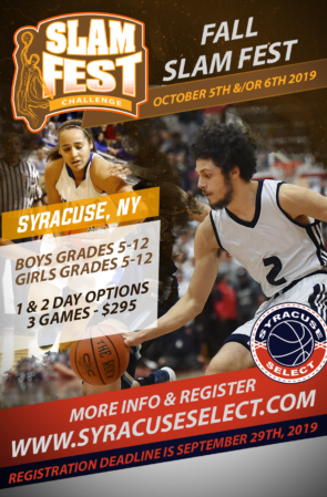Slam Fest Challenge (October 5th/& 6th, 2019) on The Campus Of Onondaga Community College