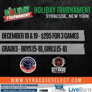 2021 Holiday Tournament
