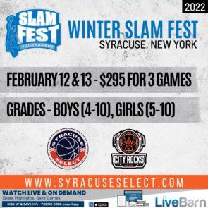 2022 Winter Slam Fest