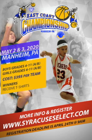 East Coast Championship May 2nd & 3rd, 2020