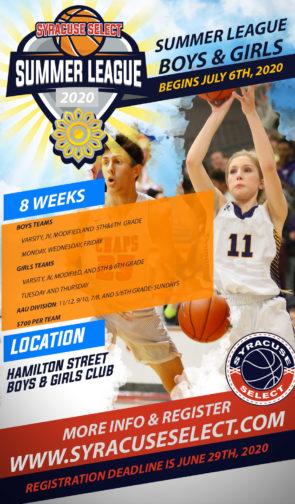 Summer Basketball League Registration CANCELED