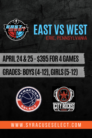 East vs West Erie, Pa April 24th & 25th, 2021