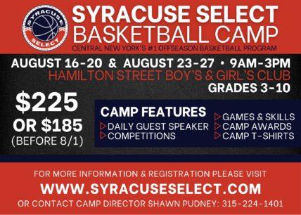 2021 Summer Basketball Camp