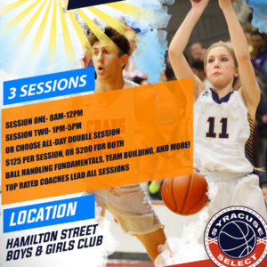 Summer Basketball Camp- THREE MORE WEEKS ADDED IN AUGUST!