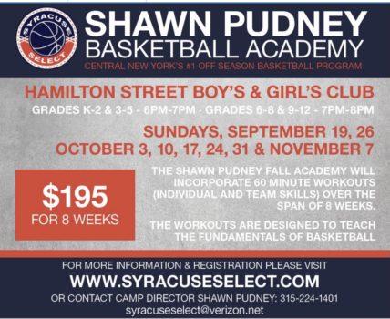 Shawn Pudney Fall Basketball Academy