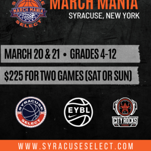 March Mania – March 20th &/or  21st, 2021