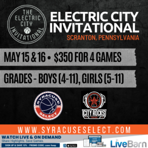 Electric City Invitational May 15th & 16th, 2021