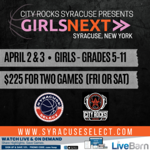 GIRLS NEXT BASKETBALL TOURNAMENT FRIDAY, APRIL 2ND AND/OR SATURDAY APRIL 3RD, 2021