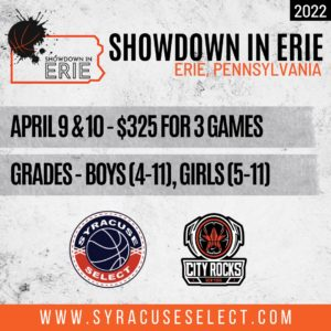 2022 Showdown in Erie