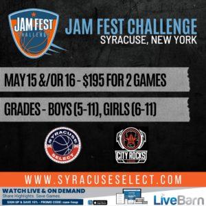 2021 Jam Fest Challenge