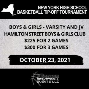 2021 New York State High School Pre-Season Tournament
