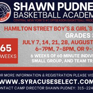 2021 Shawn Pudney Summer Basketball Academy